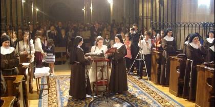 Omella preside el Año Jubilar en el convento de las clarisas de Soria