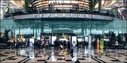 Aeropuerto Changi en Singapur