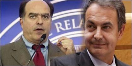 Julio Borges y Zapatero