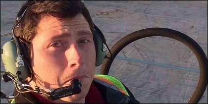 Richard Russell, empleado de la aerolínea Horizon.