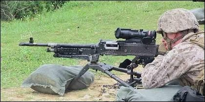 La Browning M2.