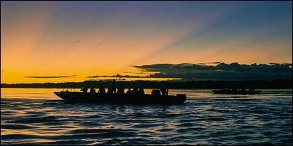 Sunset-Amazonas