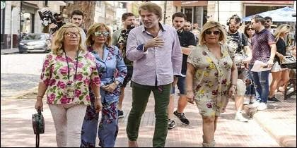 Las Campos con Edmundo 'Bigote' Arrocet.