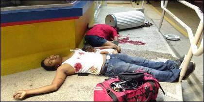 Juan Alberto Pano Ramos, de 24 años, su mujer, Alba Isabel Colón, de 17, y su hijo, Marco, de 7 meses; asesinados por el narco mexicano.