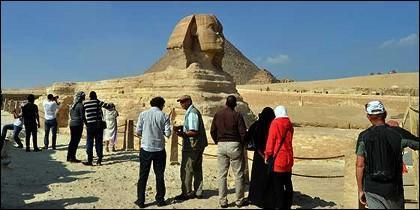 La Esfinge, Giza