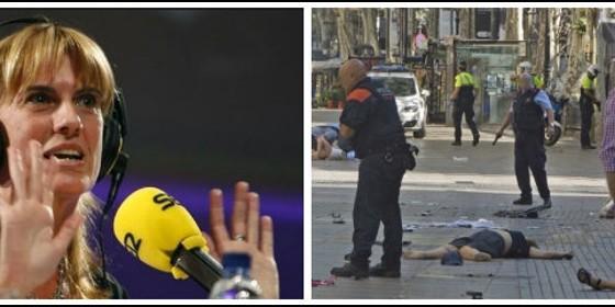 Gemma Nierga y los atentados de Barcelona de agosto de 2017.