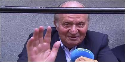 El Rey Juan Carlos I en los toros.