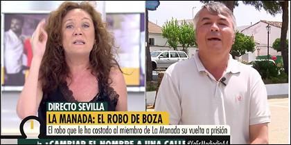 Cristina Fallarás estalla contra Agustín Martínez.