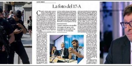 Carlos Mundó y su artículo en La Vanguardia.