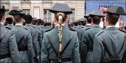 La mujer en la Guardia Civil.