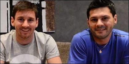 Messi y su hermano