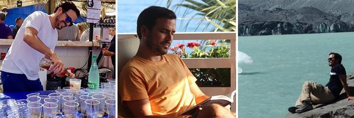 Alberto Garzón aprovecha las vacaciones al máximo como cualquier instagramer.