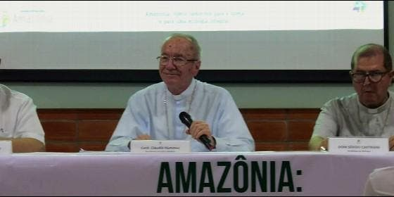 El cardenal Hummes, en el III Encuentro de la Iglesia Católica en la Amazonia Legal