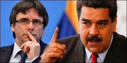 Maduro y Puigdemont