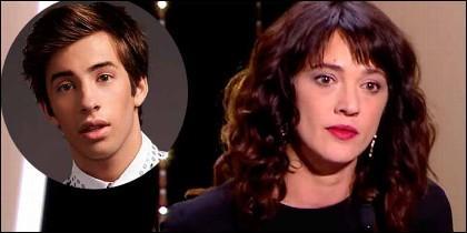 Actriz Asia Argento niega haber tenido 'relaciones sexuales' con el menor Jimmy Jimmy Bennett.