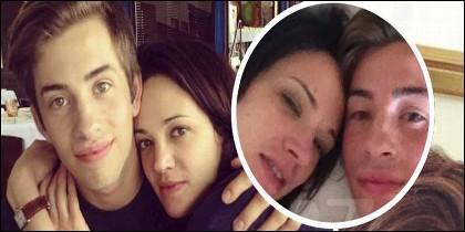 Jimmy Bennett y Asia Argento, antes y después del sexo oral y la juerga en la cama.