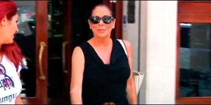 Isabel Pantoja (Captura vídeo T5)