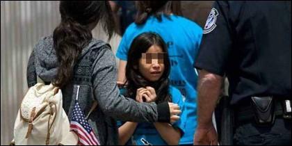 EEUU: Menores separados de sus padres inmigrantes en la frontera entre Estados Unidos y México.