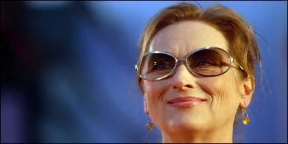 La actriz Meryl Streep.