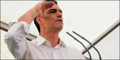 El socialista Pedro Sánchez se ha mostrado dispuesto a dar permiso de residencia y de trabajo todos los inmigrantes en situación irregular.