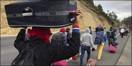 Diáspora: son ya 2,3 millones de venezolanos los que han huido de la dictadura chavista y viven fuera de Venezuela.