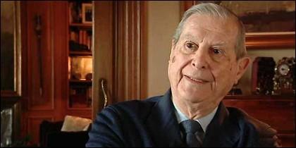 El ex ministro Alfonso Osorio.
