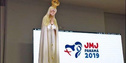 La Virgen de Fátima, en Panamá