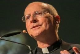 El padre James Martin, en su charla en el EMF de Dublín