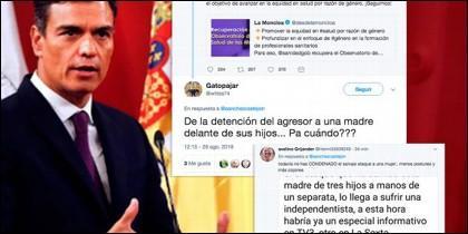 Pedro Sánchez y sus tuits