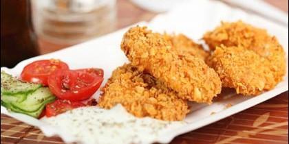 Nugges de pollo crujientes