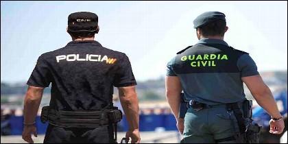 Policía y Guardia Civil.