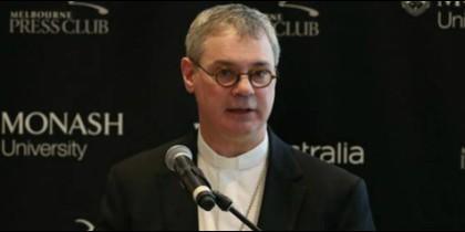 El arzobispo de Melbourne, Peter Comensoli