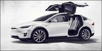 Coche eléctrico: Tesla Model S.