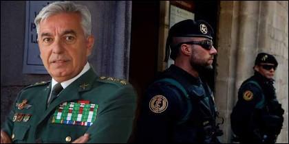 Manuel Sánchez Corbí, coronel de la UCO de la Guardia Civil.