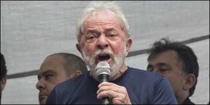 El expresidente de Brasil, Luiz Inácio Lula da Silva.