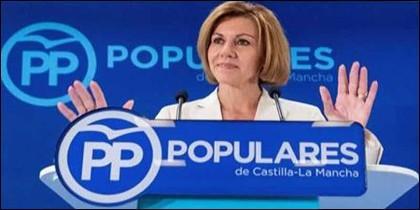 María Dolores de Cospedal (PP).