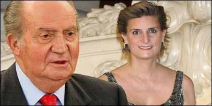 Don Juan Carlos y María Zurita