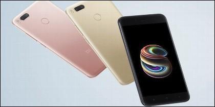 El teléfono móvil chino Xiaomi Mi A1.