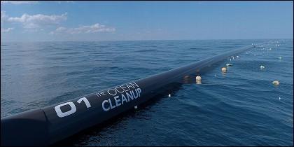 Barrera flotante