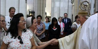 El cardenal de Madrid presidió la misa de inicio de curso