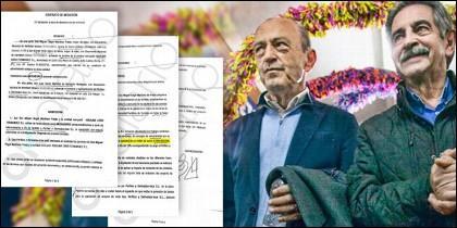 Revilla junto a López Marcano