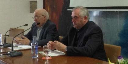 Segundo L. Pérez y el coordinador de las Jornadas, Benito Méndez