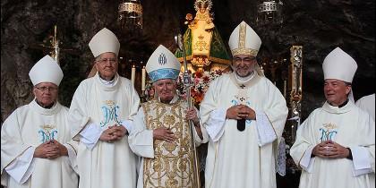 Cardenal Cañizares en la novena de Covadonga