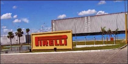 Fábrica de Pirelli en Venezuela