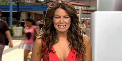 Laura Madrueño, presentadora del Tiempo en Telecinco.