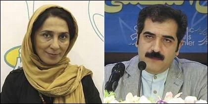 Maryam Kazemi y Saeed Asadi (IRÁN).