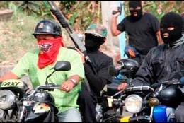 Bandas criminales en Caracas