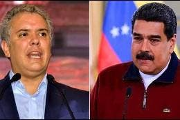 Iván Duque (COLOMBIA) y Nicolás Maduro (VENEZUELA).