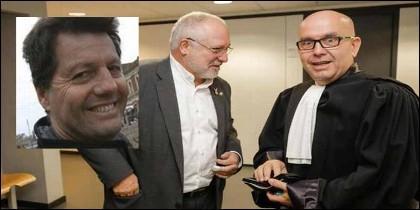 Alfonso Rojo (PERIODISTA Digital), el ex consejero prófugo Lluís Puig y el exetarra y abogado el Gonzalo Boye.