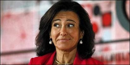 Ana Botín, presidenta del Banco Santander.